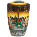 "Goebel Vase Charles Fazzino - ""My Berlin, your Berlin"" 24,0 cm"