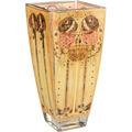 """Goebel Vase Charles Rennie Mackintosh - """"Zusammenkunft"""" 22,5 cm"""