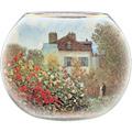 """Goebel Vase Claude Monet - """"Das Künstlerhaus"""" 22,0 cm"""