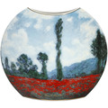 "Goebel Vase Claude Monet - ""Tulpenfeld/Mohnfeld"" 30,0 cm"