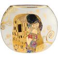 """Goebel Vase Gustav Klimt - """"Der Kuss"""" 22,0 cm"""