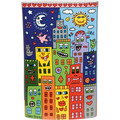 "Goebel Vase James Rizzi - ""It's Heart Not to Love My City"" 30,0 cm"