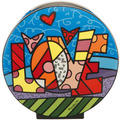 "Goebel Vase Romero Britto - ""Love"" 30,0 cm"