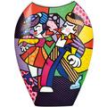 """Goebel Vase Romero Britto - """"Swing"""" 30,0 cm"""