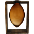 Goebel Vase Smoky Amber 25,5 cm