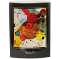 """Goebel Vase Wassily Kandinsky - """"Kreise im Kreis"""" 20,0 cm"""
