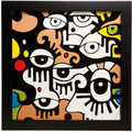 "Goebel Wandbild Billy The Artist - ""Looking into the future I"" 33,5 x 33,5 cm"
