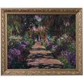 Goebel Wandbild Claude Monet - Der Weg des Künstlers 58,0 x 48,0 cm
