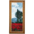 """Goebel Wandbild Claude Monet - """"Mohnfeld III"""" 27,0 x 57,0 cm"""