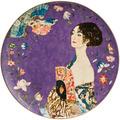 """Goebel Wandteller Gustav Klimt - """"Dame mit Fächer"""" 36,0 cm"""