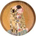 "Goebel Wandteller Gustav Klimt - ""Der Kuss"" 36,0 cm"