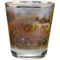 "Goebel Windlicht Claude Monet - ""Das Künstlerhaus"" 10,0 cm"