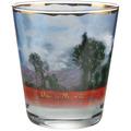 """Goebel Windlicht Claude Monet - """"Mohnfeld"""" 10,0 cm"""