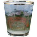"Goebel Windlicht Claude Monet - ""Weg durch das Mohnfeld"" 10,0 cm"