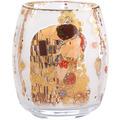"""Goebel Windlicht Gustav Klimt - """"Der Kuss"""" 13,5 cm"""