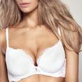 Gossard Lace Plunge Bra White 100B