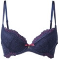 Gossard Lace Push-Up Blau 65D