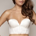 Gossard VIP Retrolution Trägerloser Push-Up BH Ivory