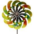 Grasekamp Windrad Garten Ibiza 6 Metall BIG  Windmühle Windfahne Windspiel Bunt