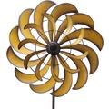 Grasekamp Windrad Garten Ibiza 8 Metall BIG  Windmühle Windfahne Windspiel Gold