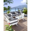 Greemotion Loungeset St. Tropez weiss/anthrazit