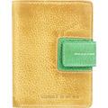 Greenburry Candy-Shop Geldbörse Leder 10 cm yellow-forest