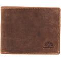 Greenburry Geldbörse Leder 12 cm brown