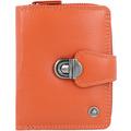 Greenburry Spongy Geldbörse Leder 9 cm orange