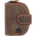 Greenburry Vintage Geldbörse Leder 9 cm braun