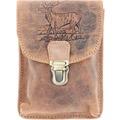 Greenburry Vintage Outdoor Gürteltasche Leder 11 cm brown