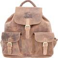 Greenburry Vintage Rucksack Leder 40 cm brown