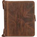 Greenburry Vintage Schreibmappe Leder 26 cm braun