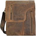 Greenburry Vintage Umhängetasche I Leder 17 cm brown