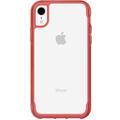 Griffin Survivor Clear Case, Apple iPhone XR, transparent/tomato