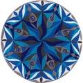 GRUND Badteppich Mandala DAHINFLIESSEN 60 cm rund