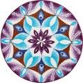 GRUND Badteppich Mandala DANKBARKEIT 60 cm rund