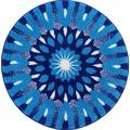 GRUND Badteppich Mandala EINSICHT 60 cm rund