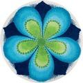 GRUND Badteppich Mandala ERFÜLLUNG 60 cm rund