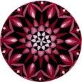 GRUND Badteppich Mandala KRAFT DES AUGENBLICKS 60 cm rund