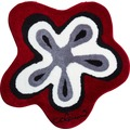 Colani 1 Badteppich rot