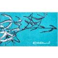 Colani 23 Badteppich türkis 60x100 cm