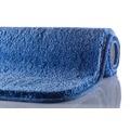 GRUND MELANGE Badteppich Jeansblau 47 x 50 cm Deckelbezug