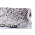 GRUND NAVONA Badteppich Grau 60 x 60 cm WC-Vorleger ohne Ausschnitt