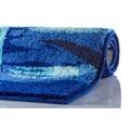 GRUND TROPICAL Badteppich Blau 50 x 60 cm WC-Vorleger ohne Ausschnitt