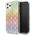 Guess - 4G Peony Iridescent Case - Apple iPhone 11 - Mehrfarbig - Cover - Schutzhülle - Hard Case