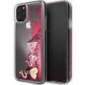 "Guess - Hard Case - ""Hearts"" Glitter - Apple iPhone 11 Pro - Raspberry - Schutzhülle"