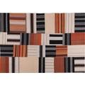 handgewebter Teppich MASH UP 2029 multi gemustert 140 x 200 cm