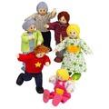 Hape Happy Family Puppenfamilie, Helle Hautfarbe