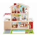 Hape Puppenhaus und Möbel Puppen-Villa