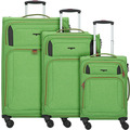Hardware Airstream 4-Rollen Kofferset 3tlg. bright green